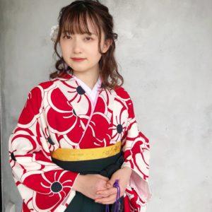 袴☆ハーフアップ